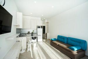 Апартаменты для проживания в деловой поездке в Алупку.