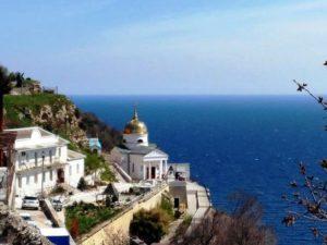 Экскурсии по Севастополю. Монастырь на мысе Фиолент.